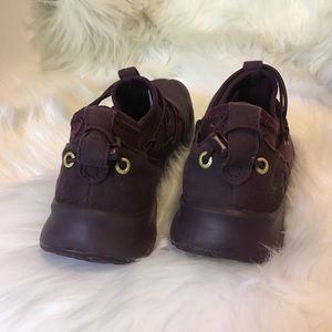 Under Armour Shoes - All Burgundy Under Armour Shoes Size 4Y